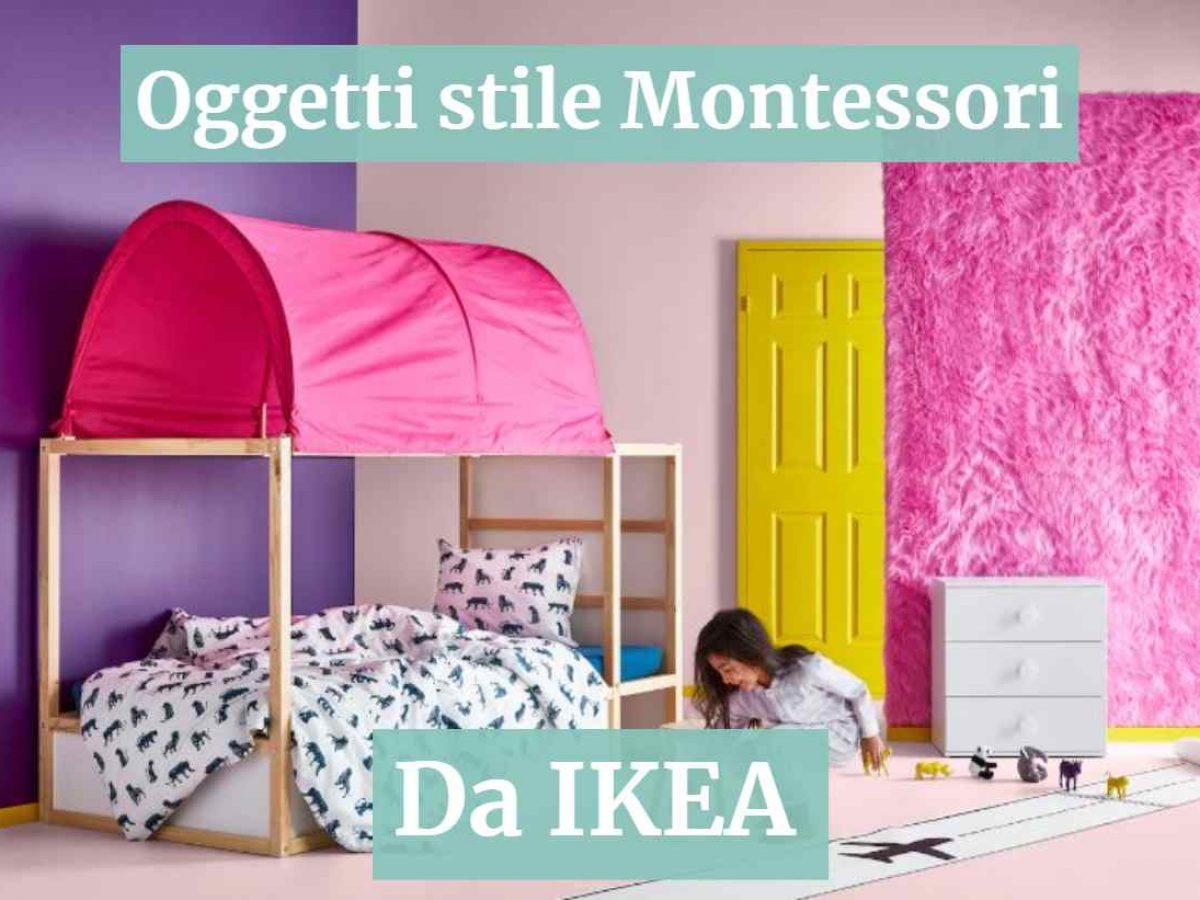 Sgabello Bambini Bagno Ikea oggetti in stile montessori da ikea