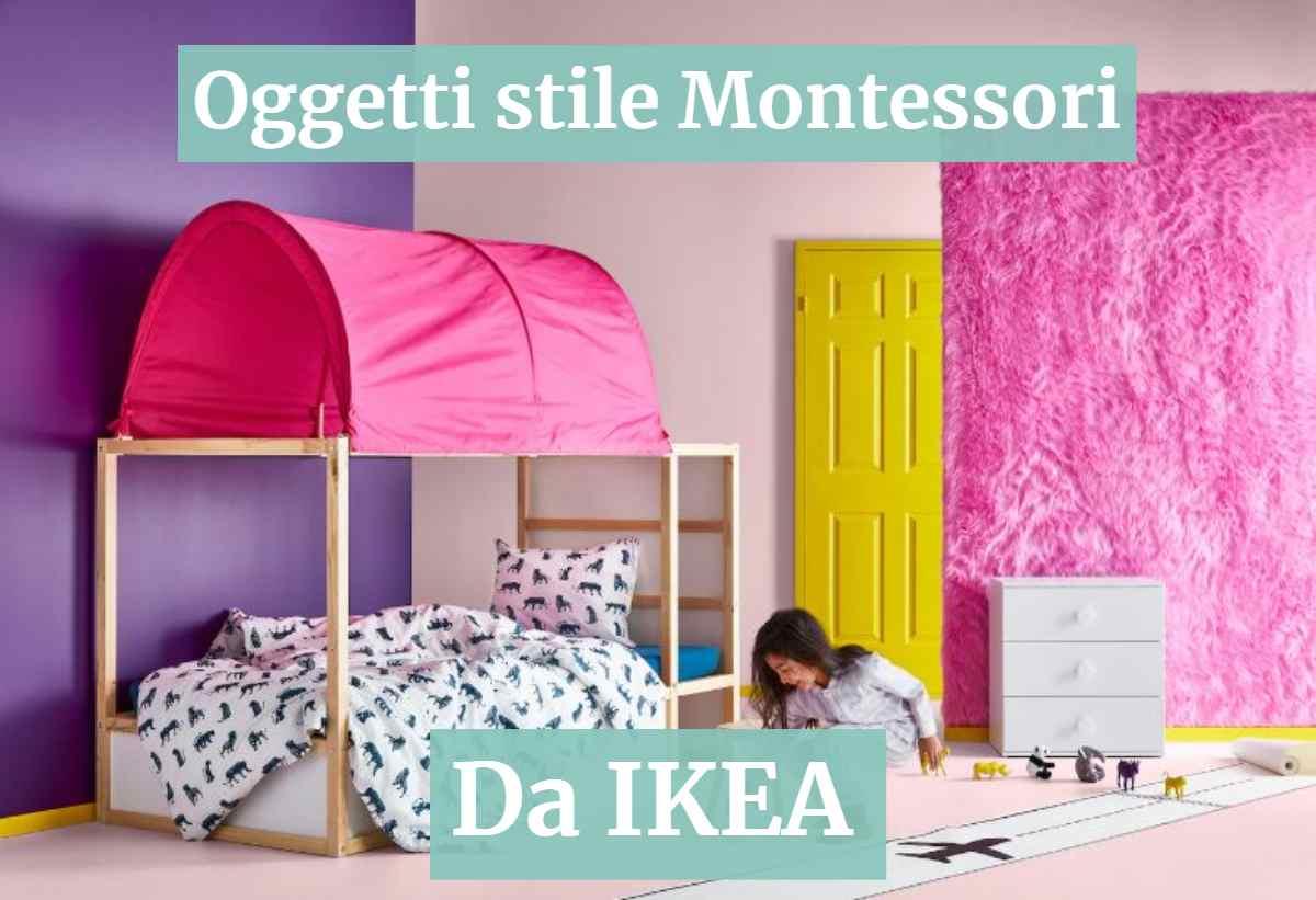Pezzi Di Design Da Avere oggetti in stile montessori da ikea
